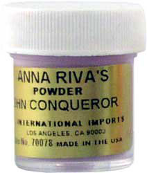 "Product Review: ""High John the Conqueror"" powder of Anna Riva"
