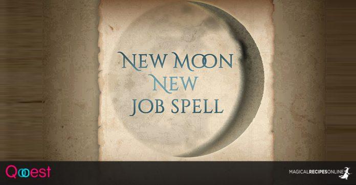 New Moon, New Job spell