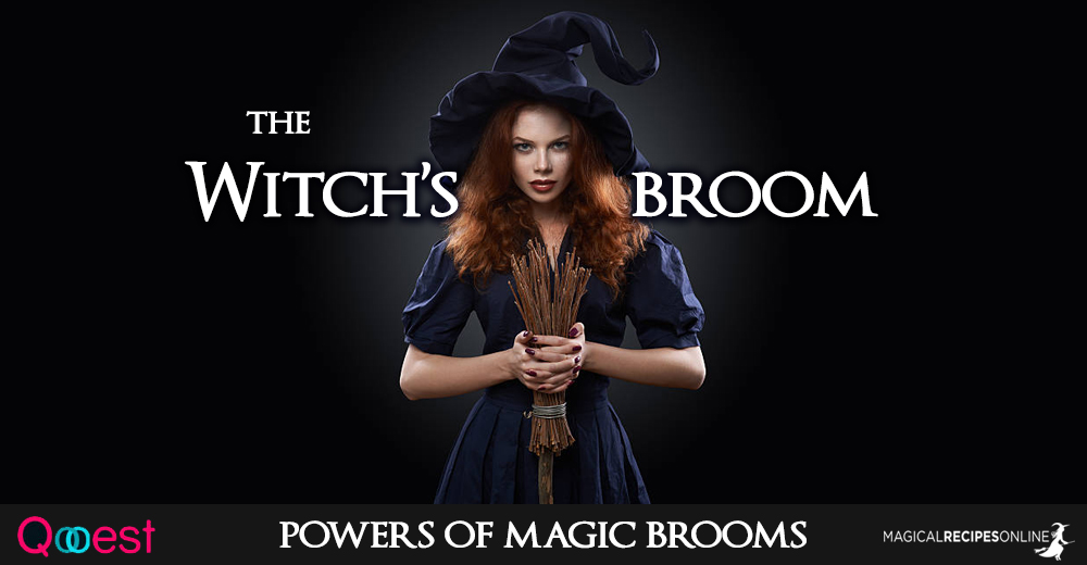 Tools Of The Craft Besom The Witchs Broom Magical Recipes Online