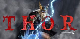 Thor, the Nordic God of Thunders