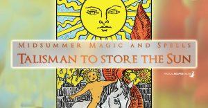 Litha Talisman to store the Sun