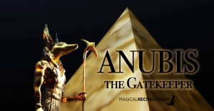 Anubis, the Gatekeeper of the Great Beyond