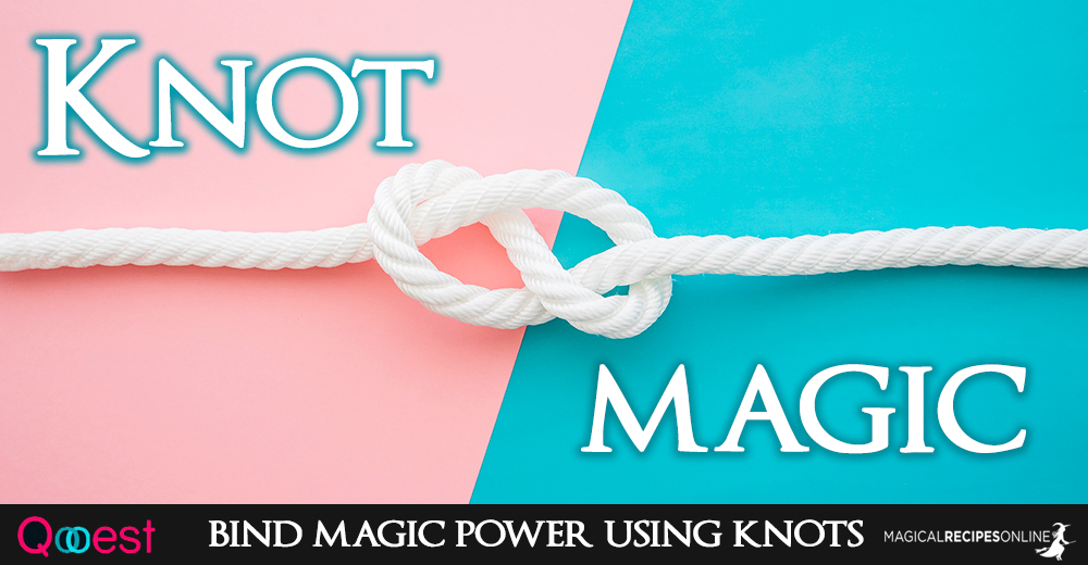Knot Magic  How to bind magic power using knots! - Magical