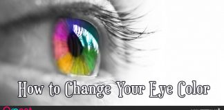 How to Change Your Eye Colour