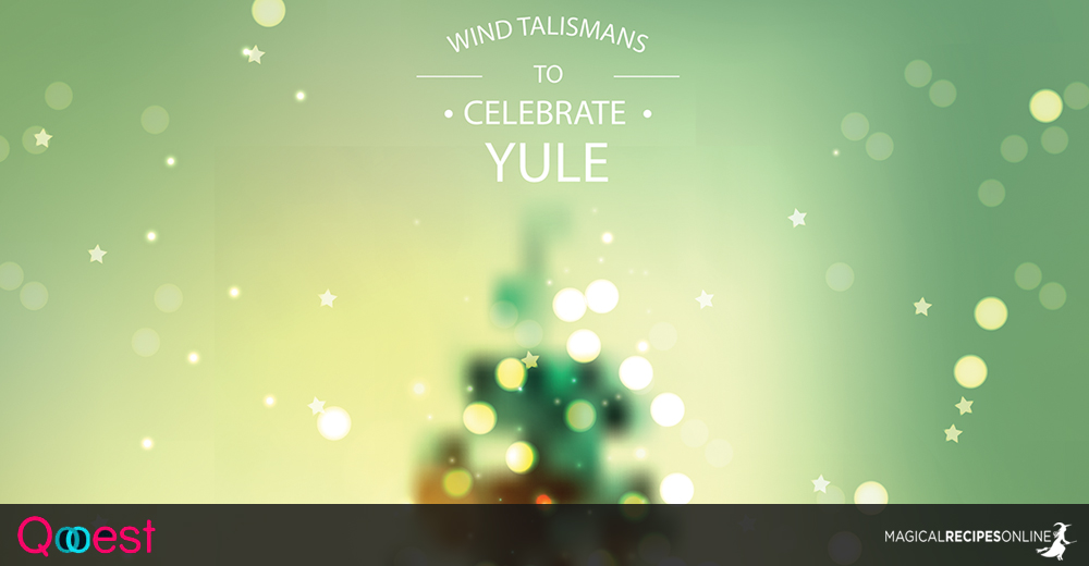 Wind Talismans to Celebrate Yule and the Gift Giving Trees