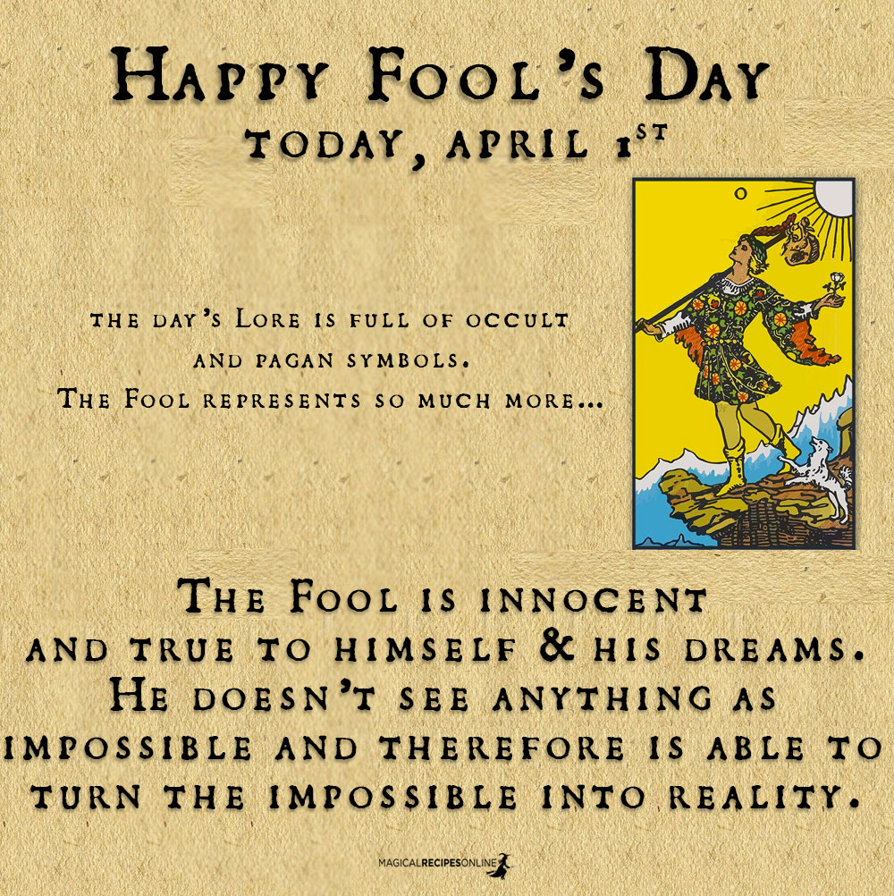 The April Fool's day & its secret Symbolism!
