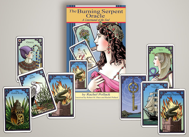 Interview with Robert M. Place, the creator of Alchemical Tarot & the Burning Serpent Oracle https://robertmplacetarot.com/