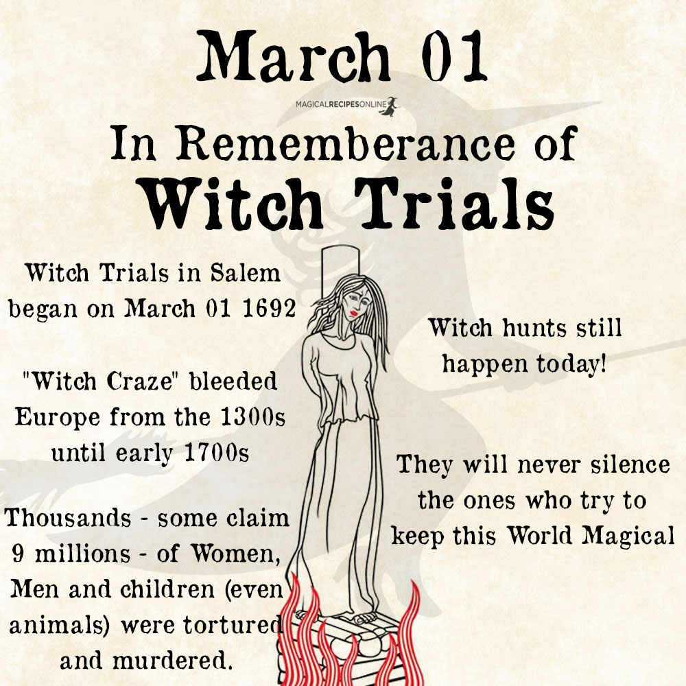 Stop Modern Witch Hunting - thousands of Witches murdered annually
