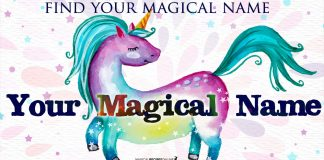 How to find your Magic Name. Your true identity