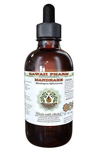 Mandragora, mandrake root extract