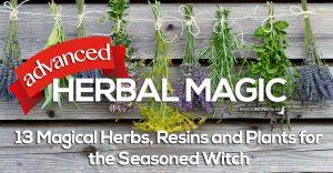 advanced herbal magic