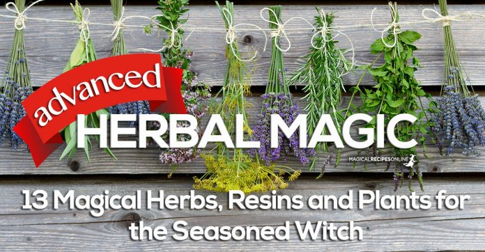 advanced herbal magic