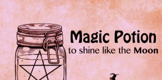 Magic Potion to shine like the Moon