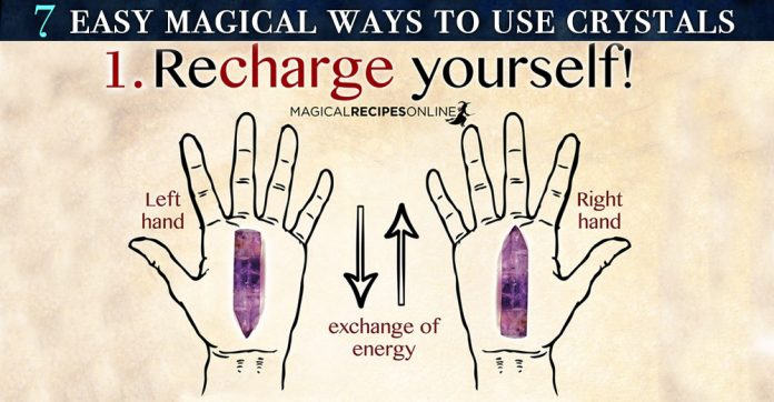 7 Easy Magical Ways to Use Crystals in your life
