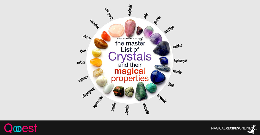 List of Crystals and their Magical Powers