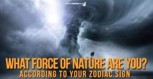 Zodiac Signs & Natural Phenomena