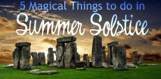 5 Magical Things to do in Summer Solstice