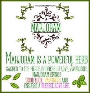 Herbal Magic of Marjoram
