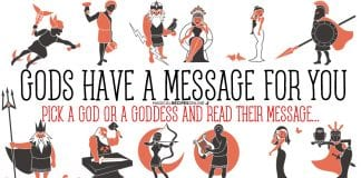 Greek Gods and Goddesses have a message for you!