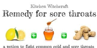 A Witchy Remedy for Sore throat