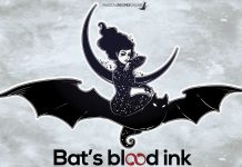 bat's blood ink