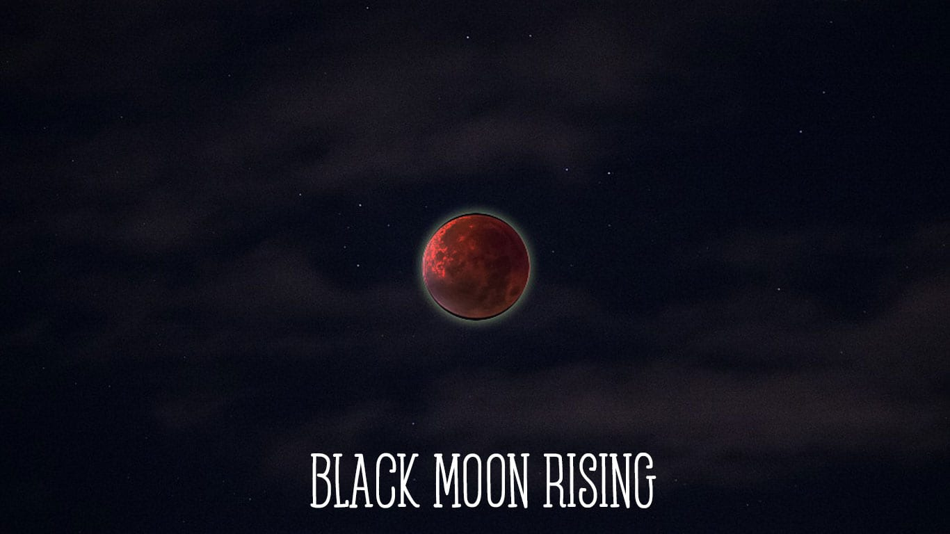 black moon rising astrology