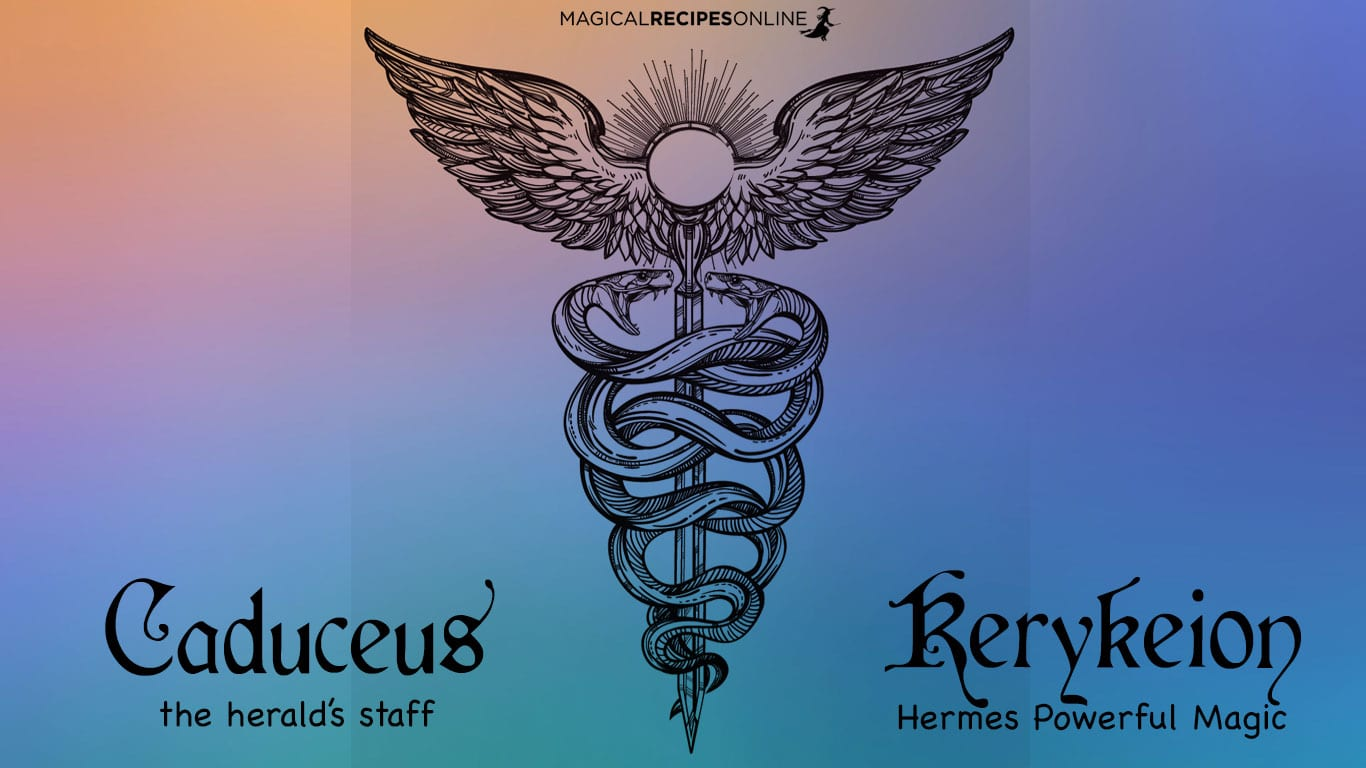 Kerykeion caduceus the magic staff of hermes mercury the biocorpaavc