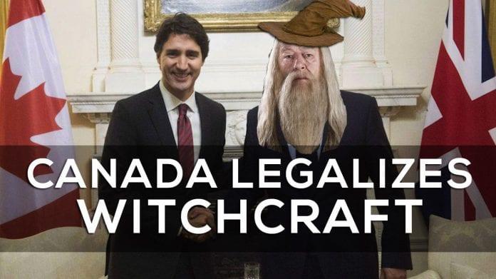 Canada Legalizes Witchcraft