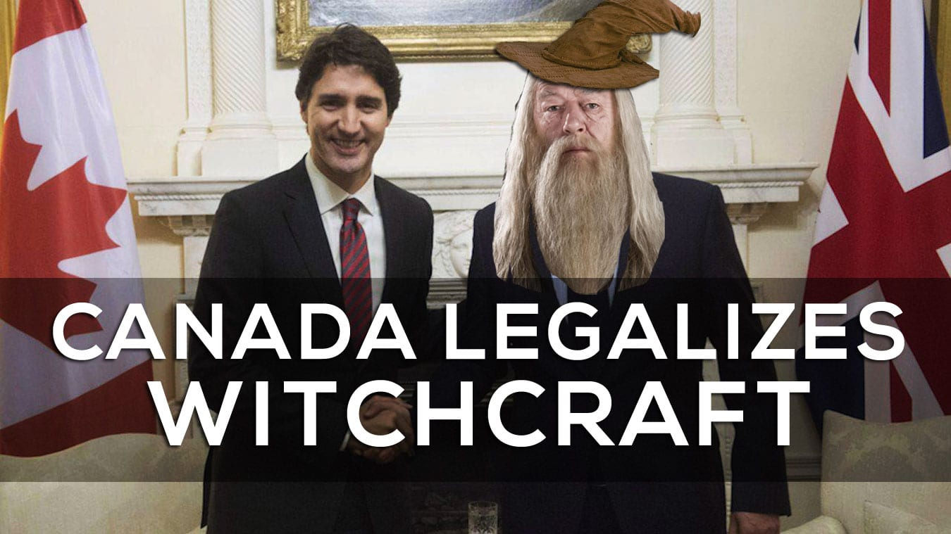 Canada Legalizes Witchcraft
