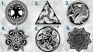 celtic sigil and celtic knots