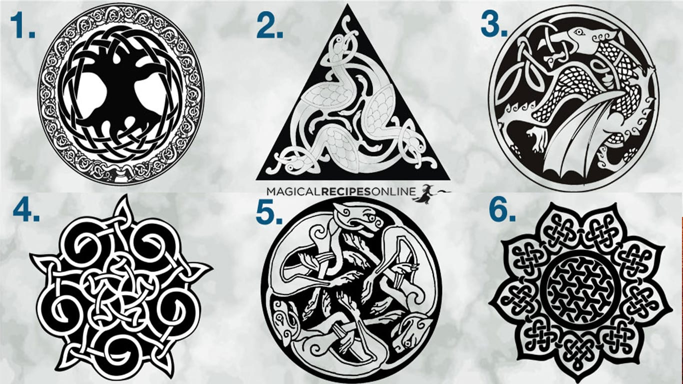celtic sigil and celtic knots