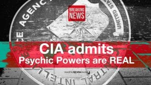 CIA admits psychic powers are real