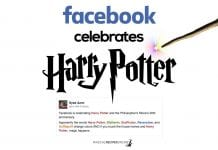 facebook celebrates harry potter