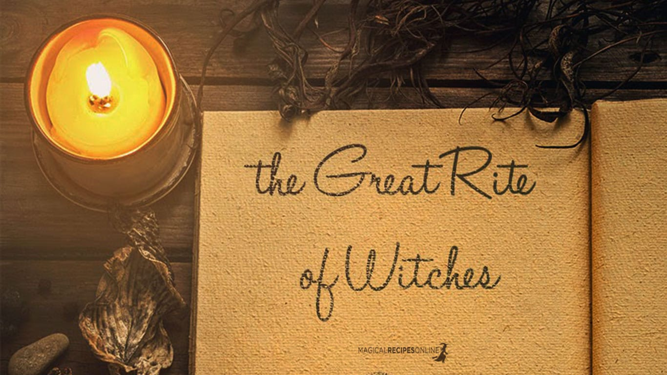 What is the Great Rite of Witchcraft? How to perform it in your home!