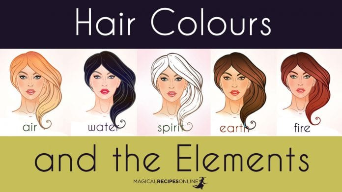 Hair colour and the Elements