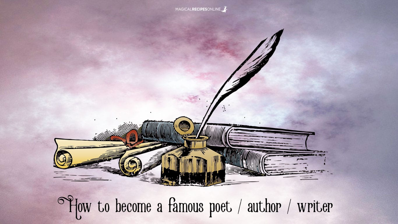 How to become a famous author