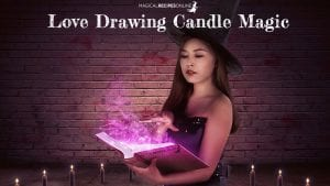 love drawing candle magic