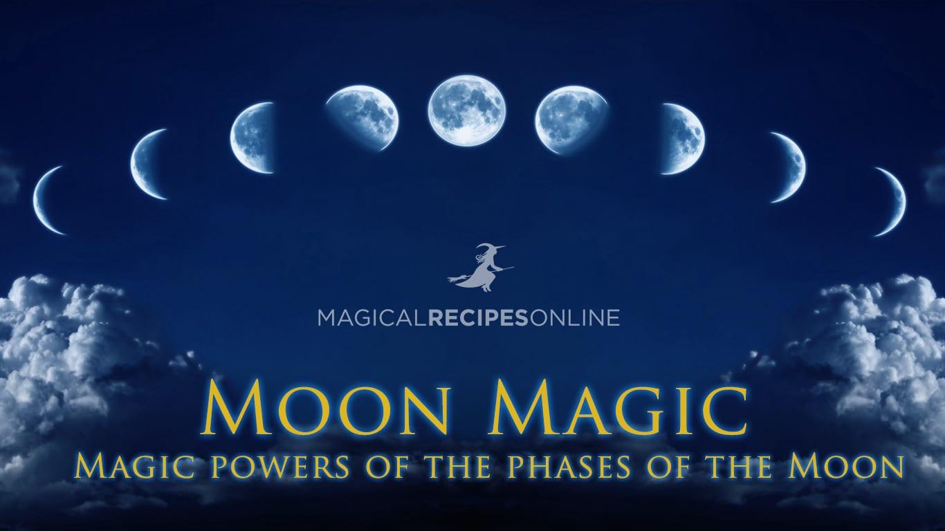 moon phases, moon magic