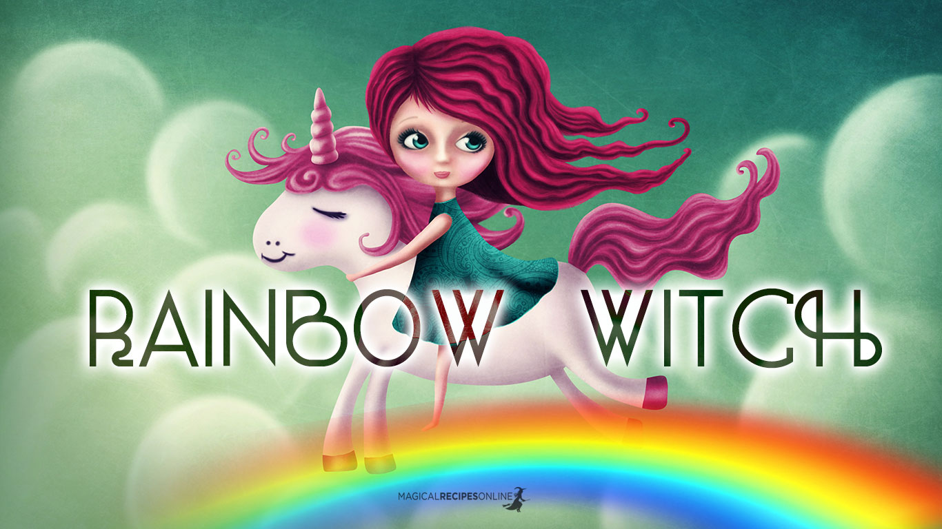 rainbow witch