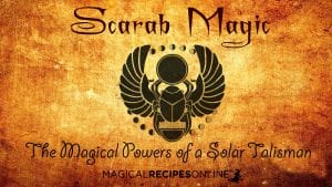 scarab egypt solar talisman