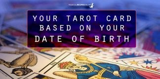 your personal tarot card based on birthday