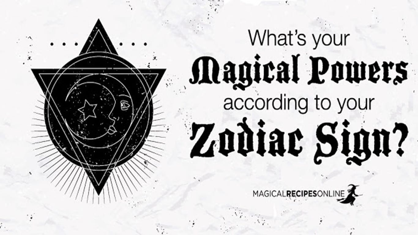Zodiac Signs And Magic What Are You Good At Magical Recipes Online