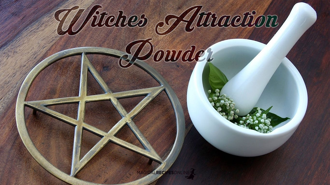 Summon Magical Friends with the Witches Attraction Powder