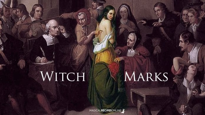 do you have witch marks