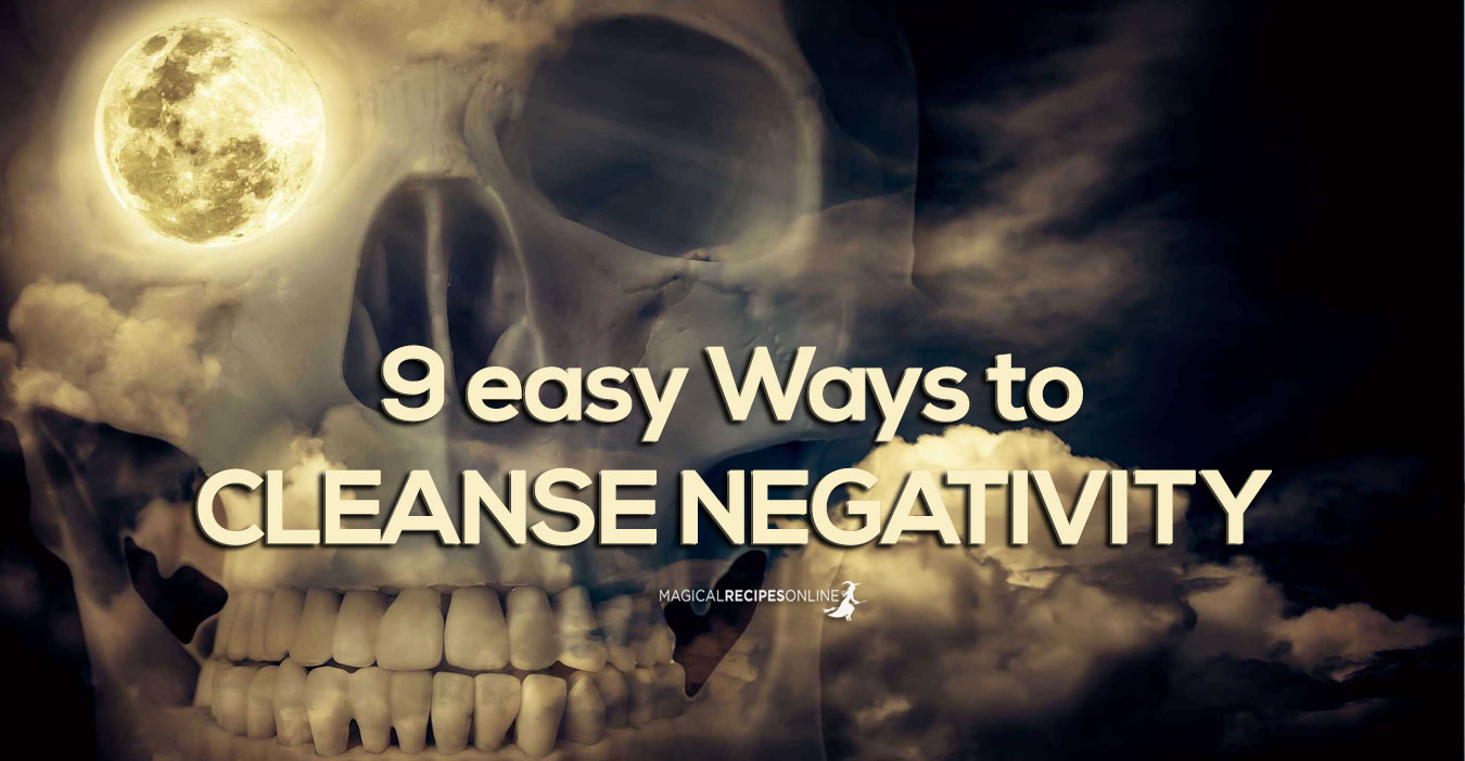 how to cleanse negativity