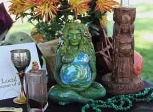 Pagan Magical Altar