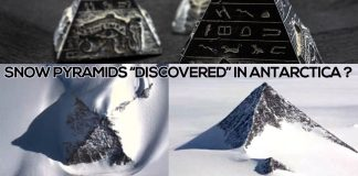 SNOW PYRAMID DISCOVERED IN ANTARCTICA