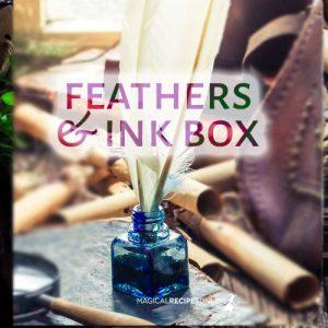 feathers ink box quiz shaman