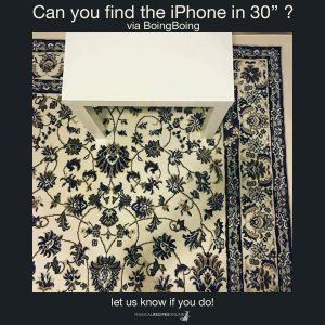 spot the iphone