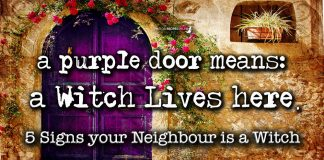5 signs your neighbour is a witch
